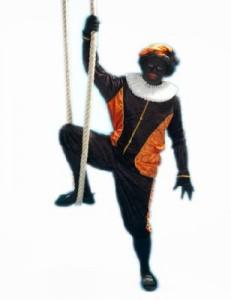 zwarte piet oranje