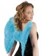 vleugel engel blauw