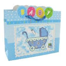 geboorte tas baby blauw